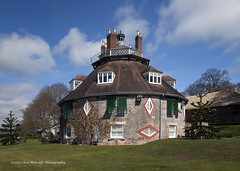 A La Ronde (clive_metcalfe) Tags: uk trees house grass garden easter spring lawn bluesky devon exeter round nationaltrust 18thcentury exmouth lympstone