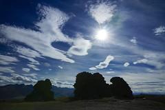 Sunburst and clouds, Nevis Valley, NZ (jozioau) Tags: rocks sunburst monoliths variosonnart282470