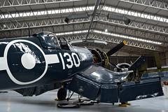 Vought F4U Corsair (Tog66) Tags: usa aircraft workshop maintenance ww2 duxford corsair warbird f4u vought
