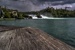 Rheinfall Schaffhausen 2/3 Bokeh (afw | ph[o]to) Tags: river schweiz switzerland bokeh rhine rhein hdr rheinfall flus 3px