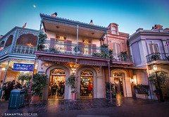 New Orleans Square (Samantha Decker) Tags: california ca disneyland wideangle anaheim themepark neworleanssquare uwa canonef1635mmf28liiusm canoneos6d samanthadecker socal16