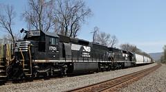 NS SD45-2's- ex Erie Lackawanna (Conrail1978) Tags: railroad ex train cove ns norfolk engine loco el southern pa erie cr lackawanna unit conrail 1704 emd duncannon 1701 6664 3670 3679 6655 sd452