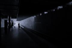 virtue of a wait (Lamson Noswen (c'lamson)) Tags: blackandwhite texture dc washington waiting metro virtue 12 patience lamson metroseries