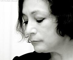 Anna Kreslavsky-van Zon.   (Natali Antonovich) Tags: portrait holland monochrome amsterdam character charm reverie femininity poetess optimisticamsterdam annakreslavsky annakreslavskyvanzon