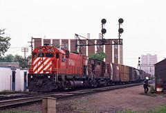 CP0023 (ex127so) Tags: toronto west yard cp 1980 lambton on m630