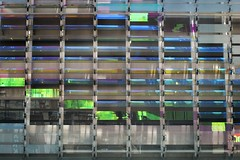 Architectural colors_jpg (ted cavanagh) Tags: architecture reflections lights coloredlights