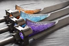 Destiny Swords (Tsabo Tsaboc) Tags: sol real king arc taken craft legendary replica exotic destiny impact void swords bungie props oryx