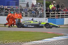MSA Formula - R3 (1) Zane Goddard breaks down (Collierhousehold_Motorsport) Tags: f4 carlin btcc arden toca msa doubler doningtonpark fortec formula4 msaformula fiaf4