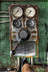 Dials Switches and Levers (Fine Art Foto) Tags: urban abandoned paper decay urbandecay heavymetal forgotten urbanexploration rotten derelict decaying urbex paperfactory lostplaces oldindustry lostplace