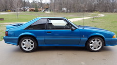 First wash after a long winter. (Jim B L) Tags: ford cobra samsung 1993 galaxy mustang svt s6