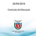 Comiss�o de Educa��o 26.04.2016