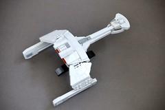 Klingon Battlecruiser (Riskjockey) Tags: startrek lego klingon d7 battlecruiser