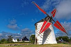 Erdeven - Moulin du Narbon (kevrinus) Tags: windmill landscape moulin brittany bretagne erdeven narbon