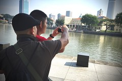30th April 2016 - Photography +Venture @ Singapore River (The Volunteer Switchboard) Tags: youth photography singapore adventure volunteering specialolympics specialneeds singaporeriver heritagetrail