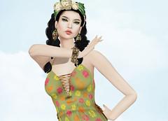 Masoom - Reham Dress (Rehana MiSS SLVietnam, Face of CHOP ZUEY 2015) Tags: fashion secondlife laboheme masoom rehana newrelease maitreya slink posesion lagyo bessom chopzuey rehanaseljan