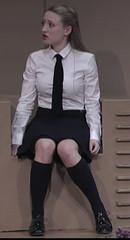 Proper Uniform 8 (Meinhardis66) Tags: rock tie maid bluse krawatte dienstmdchen governess gouvernante schuluniform schleifenbluse zchtig hochgeschlossen properuniform