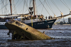 "Shipwreck ""Uwe"" | Hamburg (Photofreaks [Thank you for 2.000.000 views]) Tags: germany deutschland hamburg hh hansestadt 2015 adengs wwwphotofreaksws shopphotofreaksws"