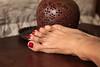 CR (IPMT) Tags: red color sexy feet club foot rojo warm toes painted polish cadillac creme vermelho barefoot barefeet pedicure toenails toenail pedi descalza