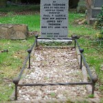 Grave of  Jean Thomson Harris