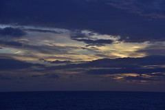 Sunrise at sea 12 hrs from Sydney (D70) Tags: from sea coral sunrise sydney route ms 12 hrs noordam noumea 98366 contail
