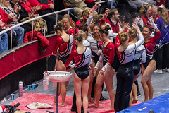 Utah vs BYU 2016-046 (fascination30) Tags: gymnastics universityofutah utes byu