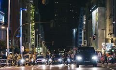 Gran Via, Madrid (andrei030) Tags: madrid street españa cars night lights luces noche calle spain streetphotography via gran granvía