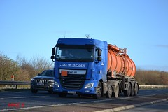DAF XF 'Jacksons' reg YE15 EUM (erfmike51) Tags: lorry artic tanker jacksons dafxf euro6