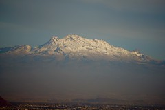 View of Iztaccihuatl from my window (pedro vit) Tags: sky snow mountains landscape mexico volcano mexicocity view valley volcanoes mounain soectacular