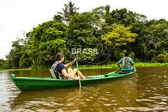 NO_Tefe0068 (Visit Brasil) Tags: travel brazil tourism nature horizontal brasil amazon rainforest natureza turismo norte amazonas ecoturismo ecotourism externa nutico tef comgente diurna riosolimes reservamamirau visitbrasil