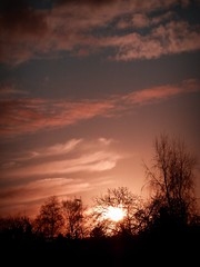 2016-01-12 sunset (24) (april-mo) Tags: sunset sky cloud sun france clouds soleil january ciel nuage nord coucherdesoleil todayssunset