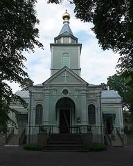 Храм преподобного Серафима Саровского (в Пуще-Водице)