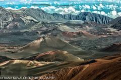 HDR photo of the cinder cones in Haleakala National Park (Alaskan Dude) Tags: travel nature landscape volcano hawaii scenery maui haleakala nationalparks hdr haleakalanationalpark 5photosaday