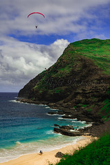 Visit Hawaii Now! (Records of Light Photography) Tags: hawaii paragliding makapuu makapuulighthouse