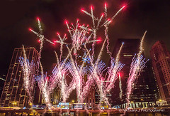 New Year's Eve Celebration Downtown Chicago, December 31, 2015 (Natasha J Photography) Tags: new eve rising star top year chitown ring event huge hyatt rise shining regency dubbed years 70foot firstofitskind