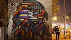 Wall Art (abhinav_singh) Tags: street new bird art wall graffiti place eagle delhi cp connaught