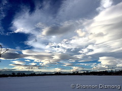 January 18, 2016 - Dramatic skies and lenticular clouds in Thornton. (Shannon Dizmang)