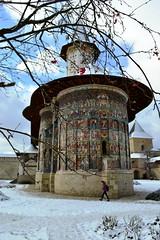 Winter at Sucevita Monastery (dan_m_gh@yahoo.com) Tags: winter church monastery bucovina sucevita bukovina outsidepaint suceava daarklands
