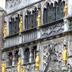 P1030162-Bruges, Stadhuis, Belgium (CBourne007) Tags: city architecture buildings europe belgium bruges veniceofthenorth