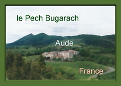 Parahou le grand , au fond le Pech(Pic) bugarach b (luka116) Tags: 2005 france aude pechbugarach