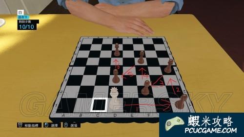 看門狗 國際象棋走法圖解