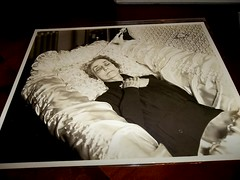 Beautiful Dreamer (Gerri Gray Photography) Tags: old woman monochrome vintage dead photography death casket photograph corpse coffin postmortem