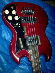 Vintage Japanese SG Bass 1aos 1000 (Lox Pix) Tags: lox loxpix guitar collection bass mandolin fender gibson yamaha ibanez rickenbacker vintage beatle violin shape kent sleekline bowhunter trump squier stratocaster telecaster hofner loxwerx l0xpix