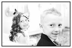 Turn around! (S Cansfield) Tags: wedding boy portrait girl lumix open wide panasonic bridesmaid 20mm flowergirl alternative pageboy f17 m43 gx1 miniproject microfourthirds
