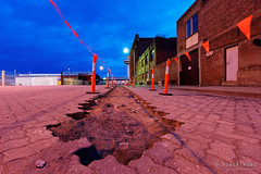 20160117-14-Trench (Roger T Wong) Tags: pavement australia trench tasmania hobart pavers 2016 sony1635 rogertwong sel1635z sonya7ii sonyilce7m2 sonyalpha7ii sonyfe1635mmf4zaosscarlzeissvariotessart