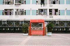 Estate (Thomas T. H. Chan) Tags: film zeiss hongkong chair estate seat contax shatin planar publichousing xtra g45
