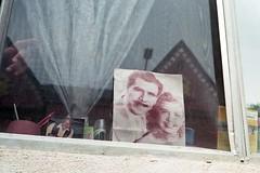Memory (ADMurr) Tags: leica house lake window triangles silver 50mm parents la photo kodak finger group summicron pointing m4 ektar