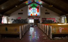 (Fatigued_23) Tags: old abandoned church decay forgotten asylum dilapidation abandonment dilapidated mentalinstitute