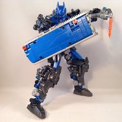 Olarokh, Toa of Sonics 23 (MrBoltTron) Tags: lego sound cyborg sonics bionicle toa 2016 olarokh neotoa