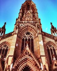 """Church On The Westide Of Stuttgart"" (Anschuetz Photography) Tags: city abstract building art church beautiful germany stuttgart abstractart religion creative abstracto impressive iphone 6s churchinstuttgart"