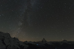 Milky-Way-2015-10-11-0514 (escapevelocity-ch) Tags: way switzerland suisse gornergrat zermatt matterhorn milky voie valais cervin lacte